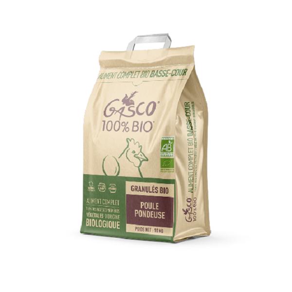 GASCO - Granule Poule Pondeuse Bio 10kg