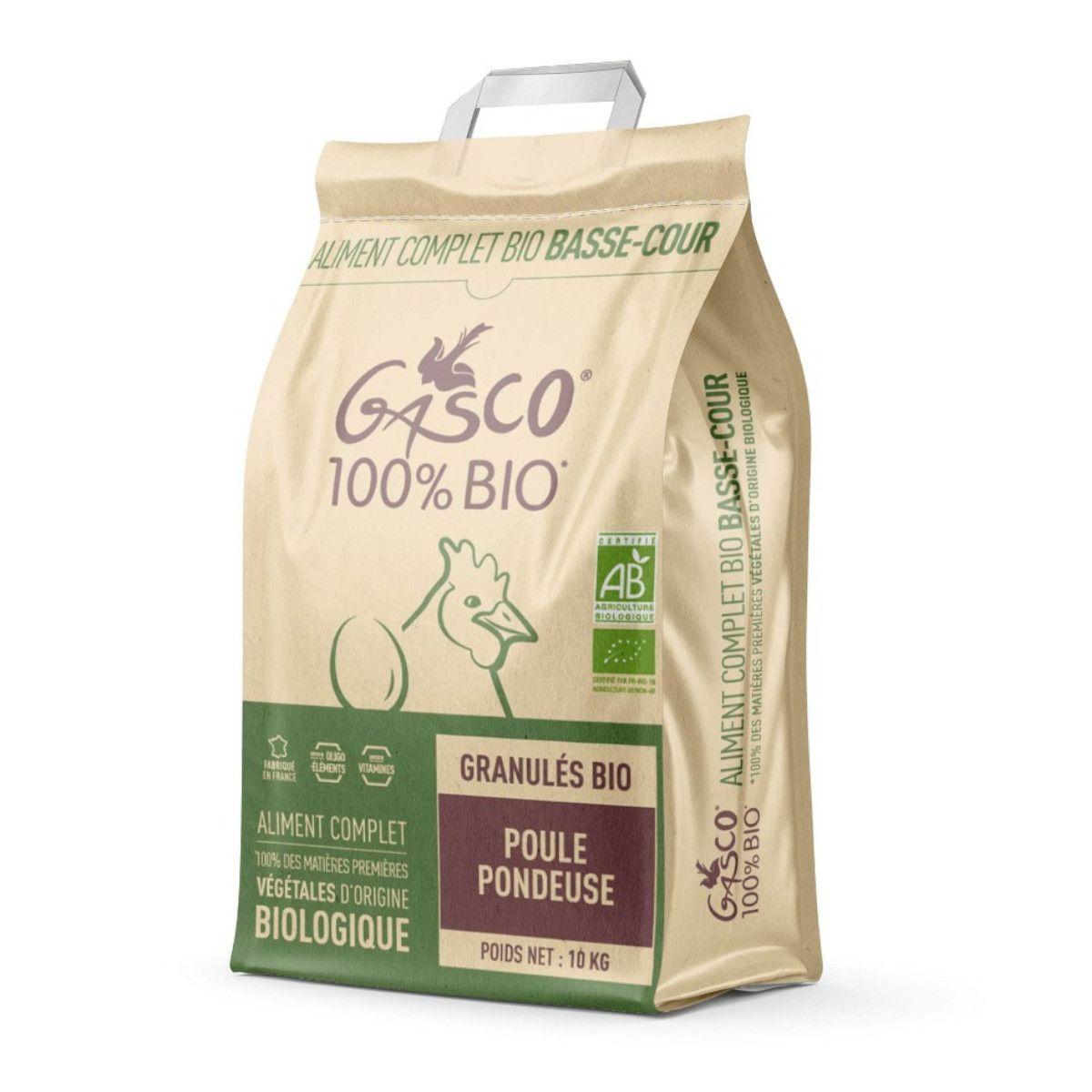 GASCO- Alimentation BIO -Granulés poule pondeuse 5kg