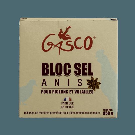 GASCO- Bloc Sel Anis pour poules