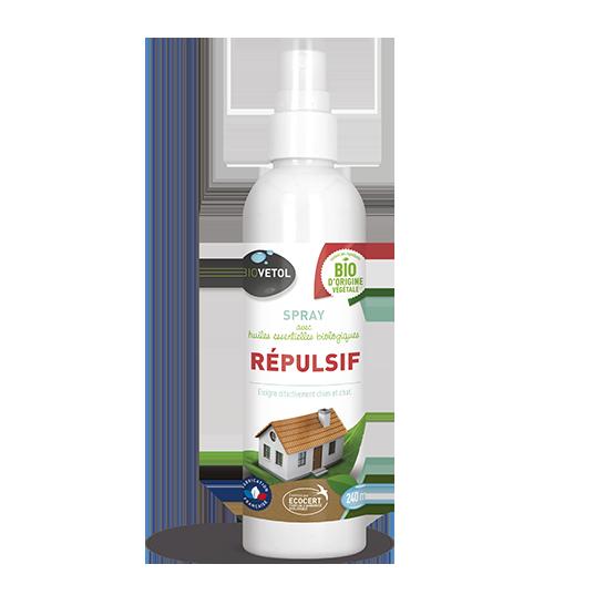 GASCO BIOVETOL- Spray répulsif chien chat 240ml