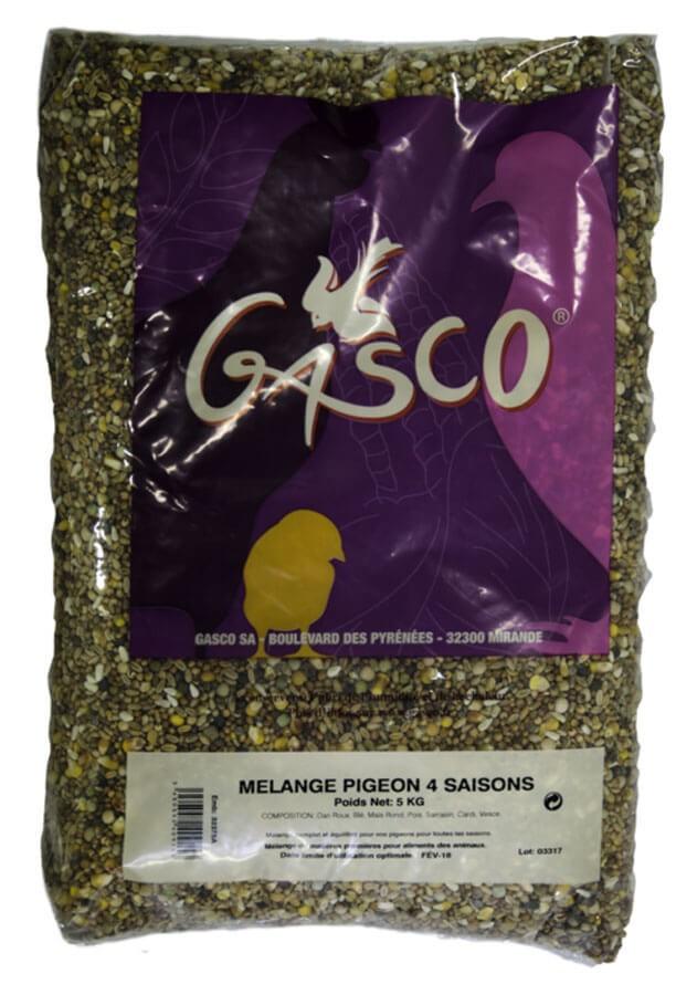 GASCO-Alimentation mélange pigeon 4 saisons