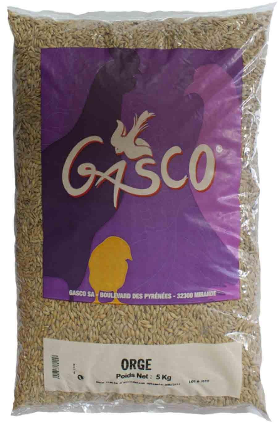 GASCO-Alimentation Basse Cour - Orge