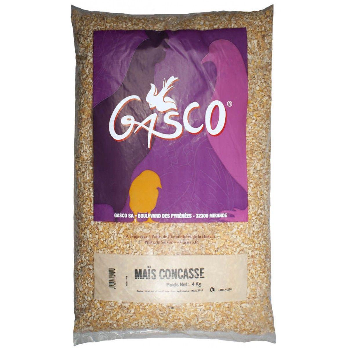 GASCO- Alimentation Basse Cour - Mais Concasse