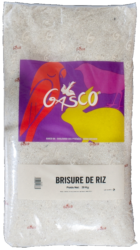 GASCO Brisure de riz - chien noszanimos
