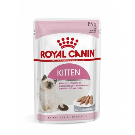 Royal Canin Kitten mousse - Lot 12 x 85g + 4 Sachets Offerts