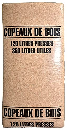 Gasco - Copeaux Sapin du Nord - 120 L