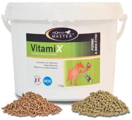 HORSE MASTER - VITAMIX Complément minéral et vitamine NosZanimos