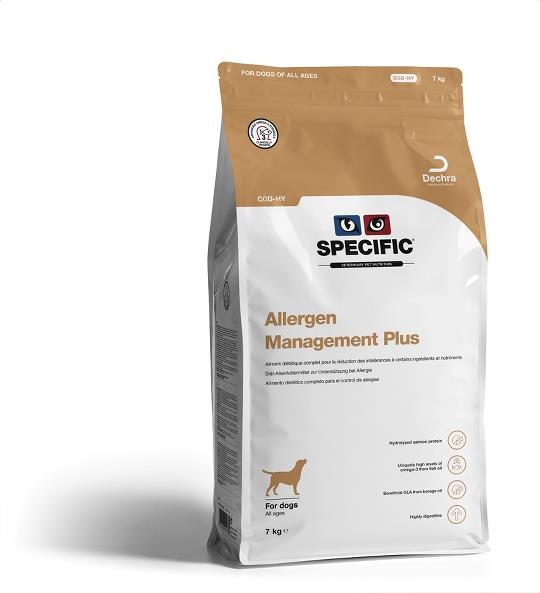 Croquette SPECIFIC ™ COD-HY Allergen Management Plus