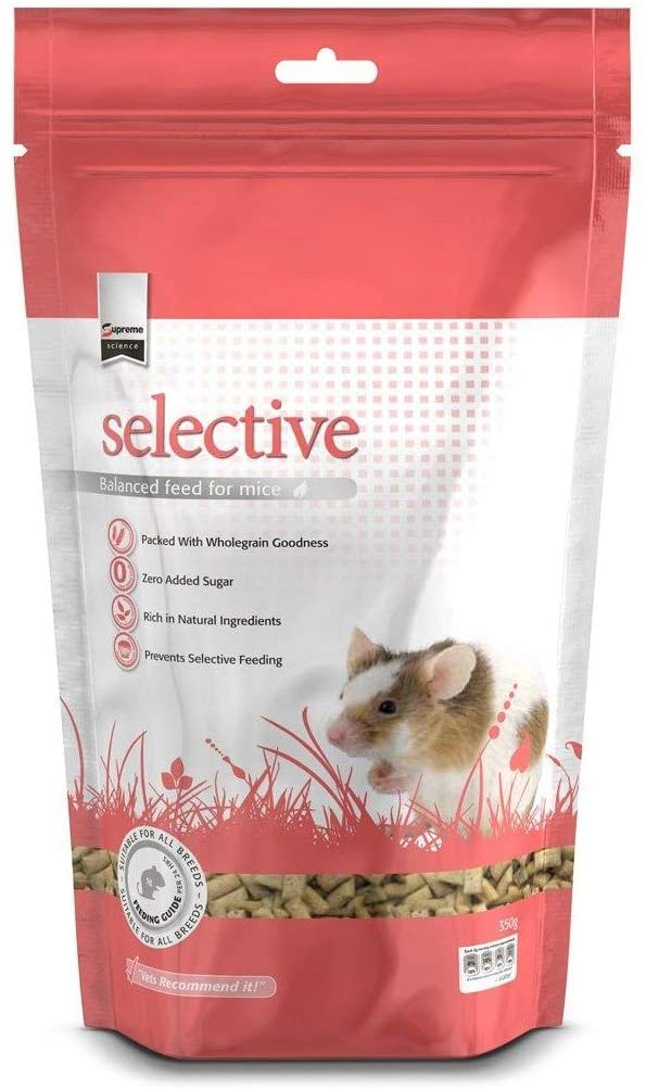 Supreme Petfoods Selective - Granulés pour Souris