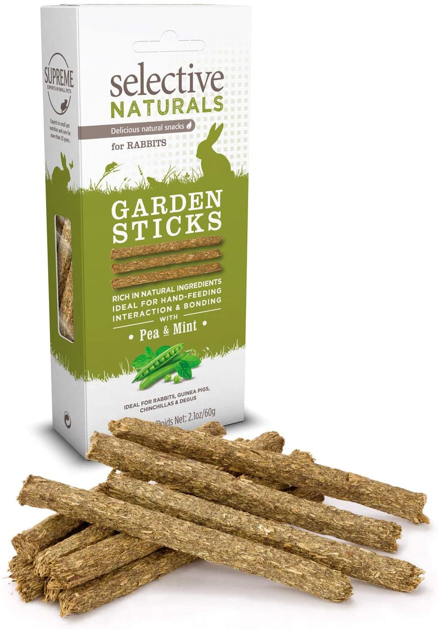 Supreme Petfoods Selective - Friandise Garden Sticks Pois/Menthe