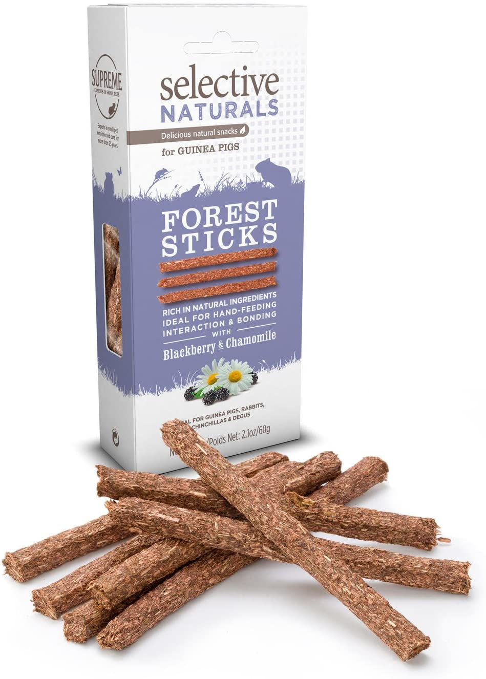 Supreme Petfoods Selective - Friandise Forest Sticks pour Cochon d\'Inde