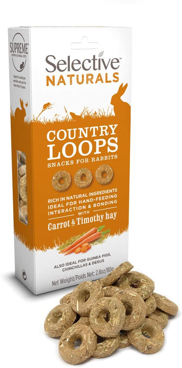 Supreme Petfoods Selective - Friandises Country Loops avec Carotte