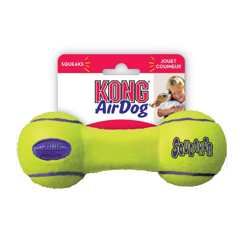 KONG - AirDog Squeaker Dumbbell