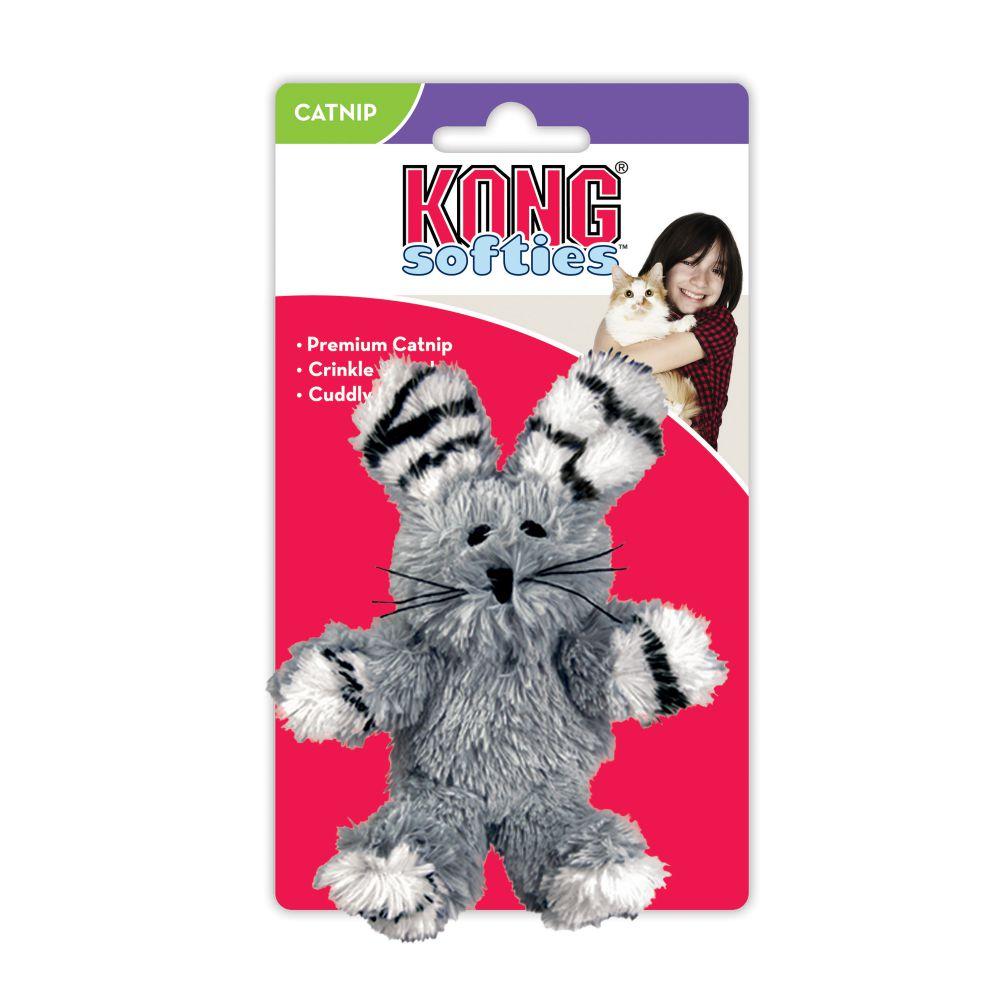 KONG Cat Softie Fuzzy Bunny