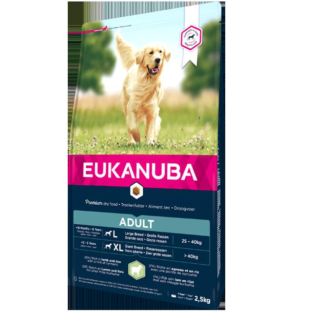 Eukanuba - Croquettes pour Chien Adult Grande Race - Agneau & Riz