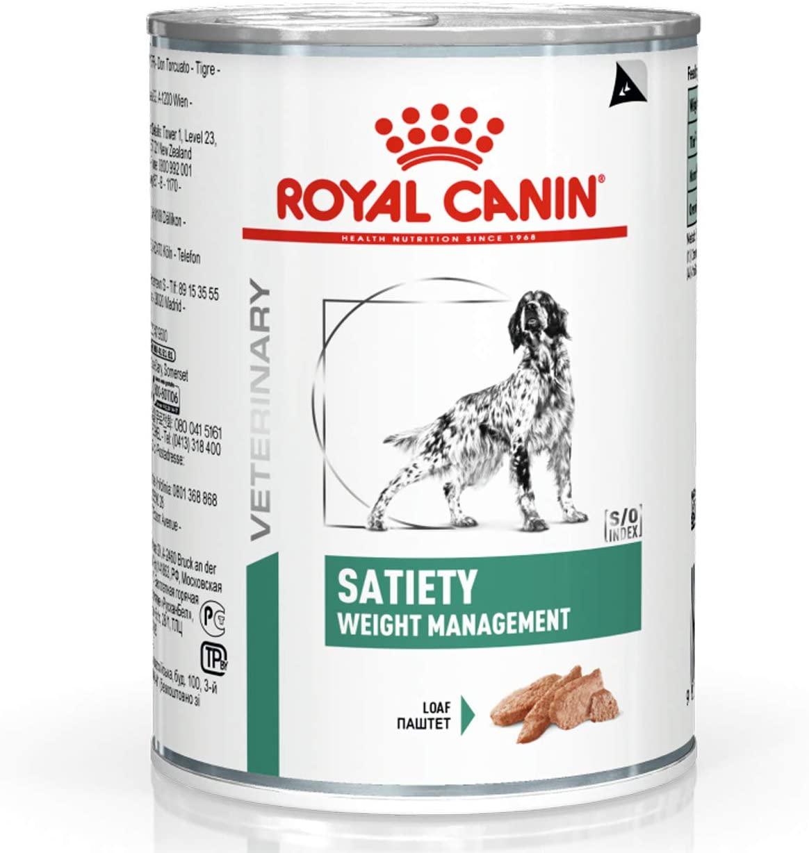 Royal Canin Veterinary diet dog satiety - Boite 410g