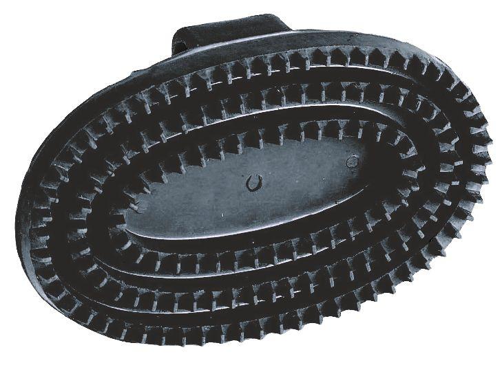 KERBL - Etrille ovale noire