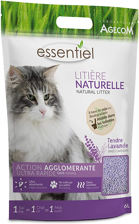Essentiel - Litière Naturelle Lavande 6L