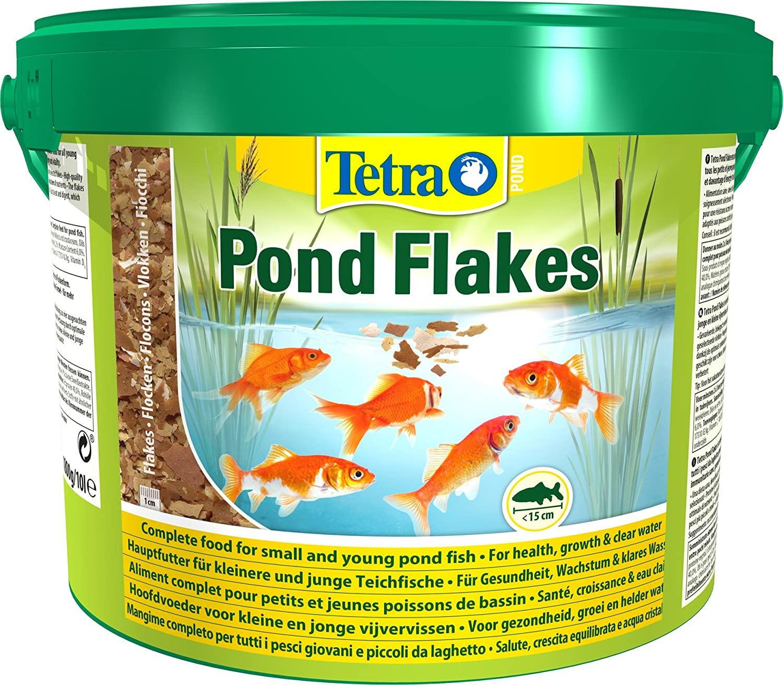 Tetra Pond Flakes – Aliments complets en Flocons pour les poissons de Bassin de Jardin et d'Ornement NosZanimos
