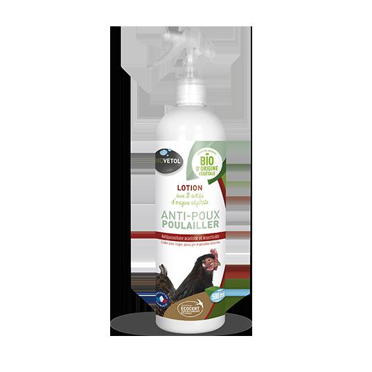 GASCO Biovetol - Lotion Anti Poux pour poulailler