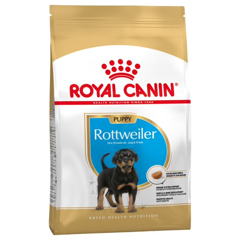 Royal Canin - Croquettes pour Chiot Rottweiler - 12kg