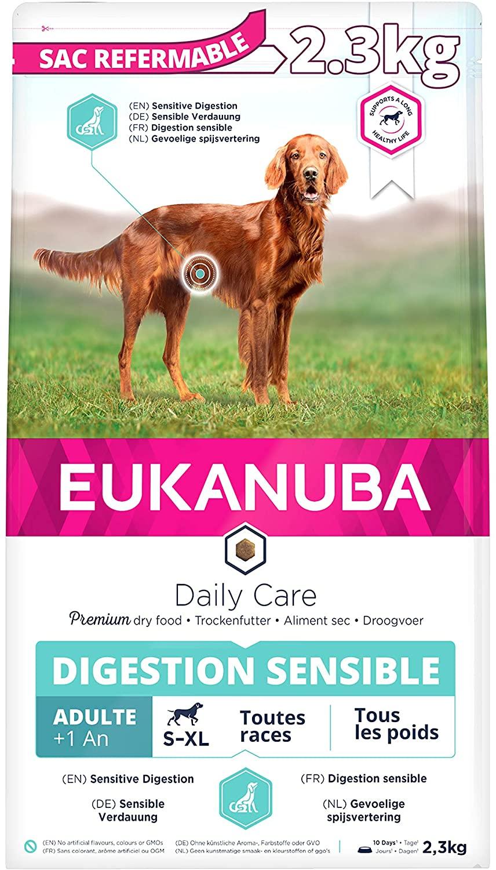 Eukanuba Daily Care - Croquettes pour Chien Adult  Digestion Sensible