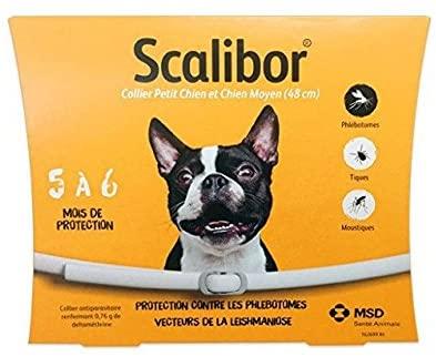 Scalibor - Collier Antiparasitaire pour Chien Moyen - 48 cm NosZanimos