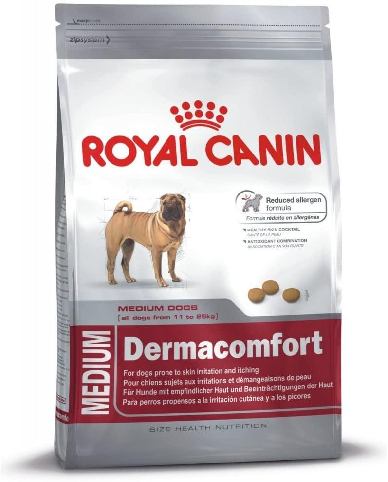 Royal Canin - Croquettes Dermacomfort pour chien Medium - 10KG  NosZanimos