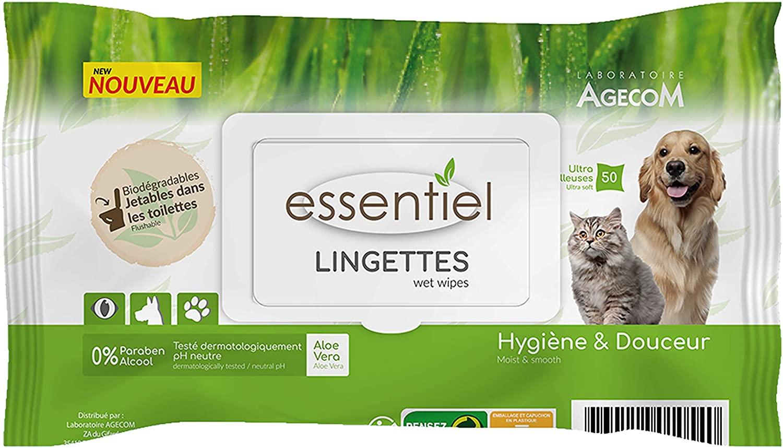 Essentiel - Lingettes sans parfum