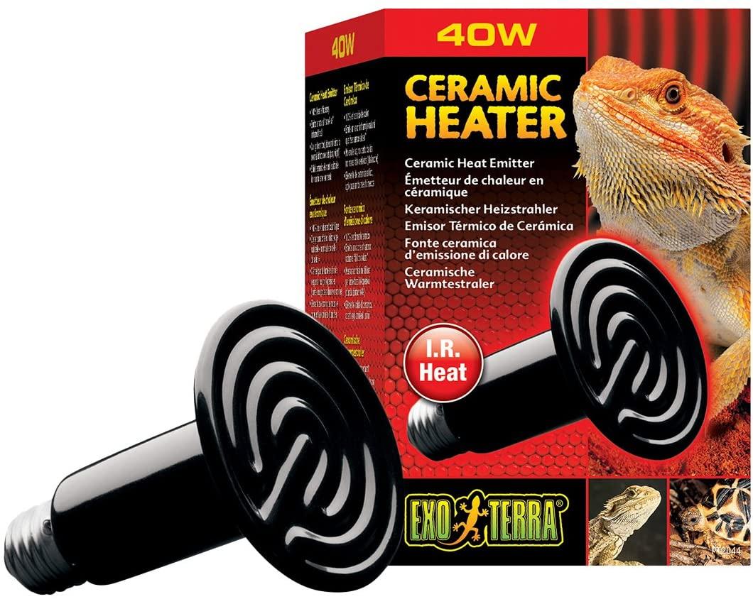 Exoterra - Emetteur de Chaleur Ceramic Heater Reptiles 40W