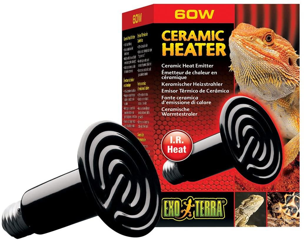 Exoterra - Emetteur de Chaleur Ceramic Heater Reptiles 60W