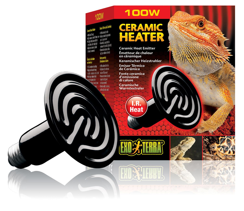 Exoterra - Emetteur de Chaleur Ceramic Heater Reptiles 100W