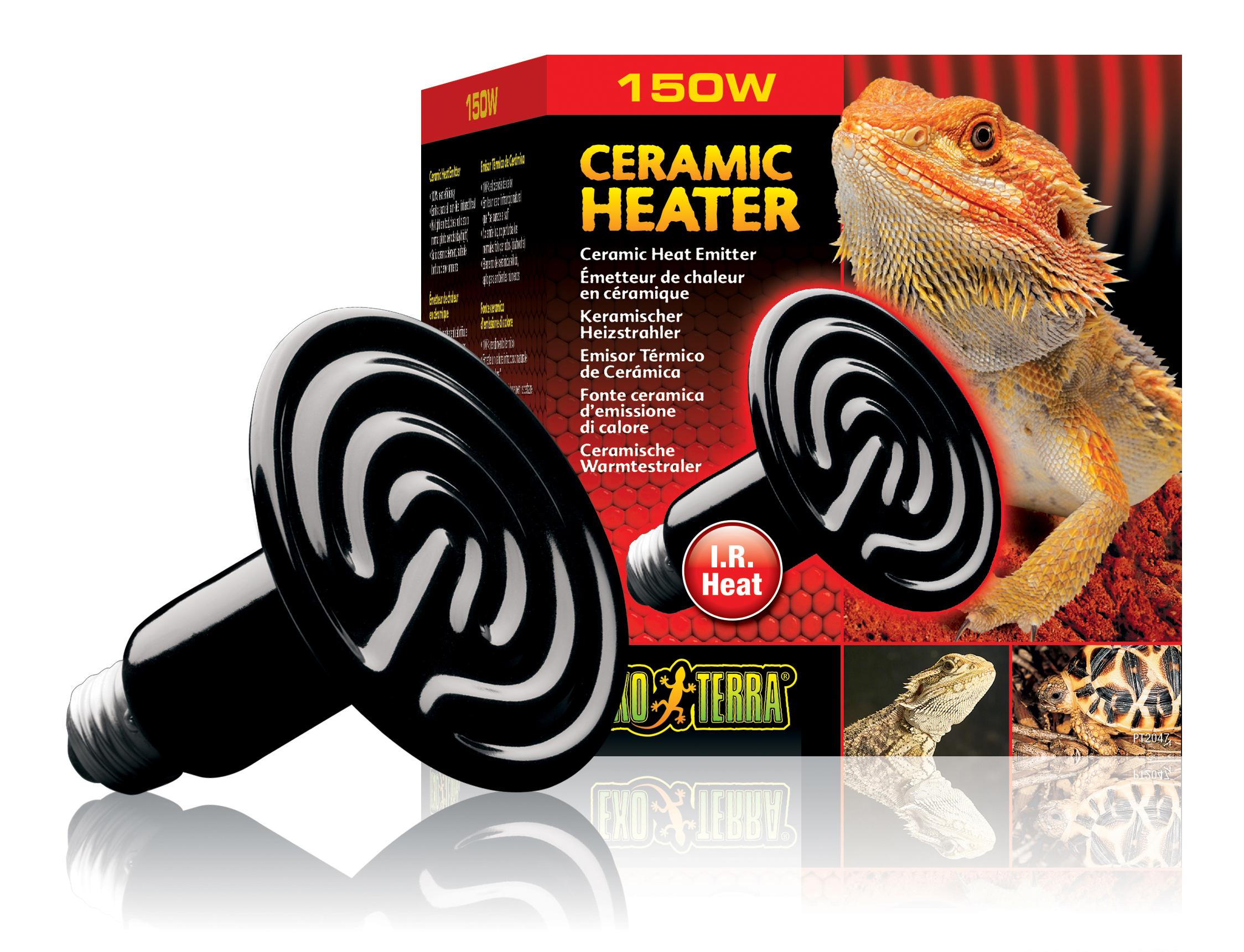 Exoterra - Emetteur de Chaleur Ceramic Heater Reptiles 150W