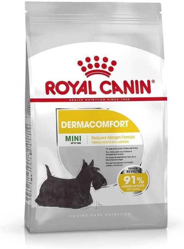 Royal Canin - Croquettes Dermacomfort pour chien Mini - 8KG