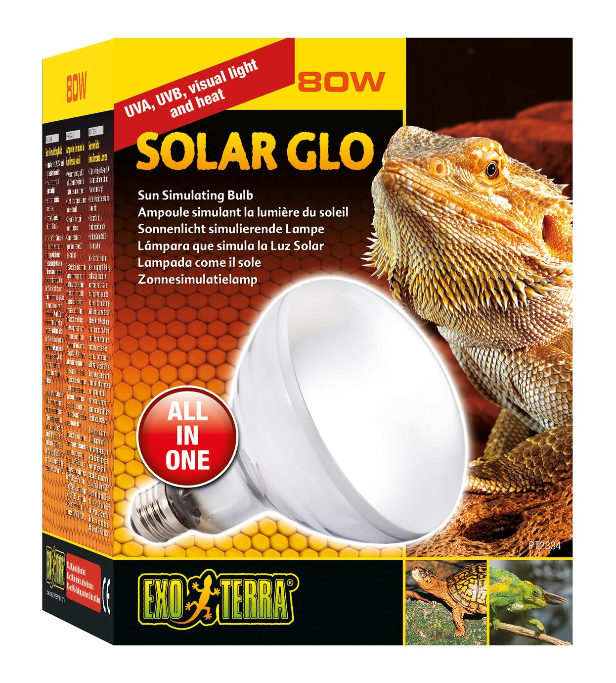 ExoTerra Lampe Solar Glo 125W