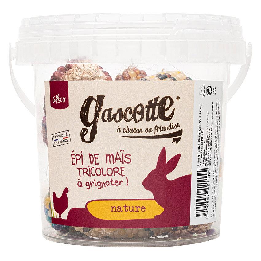 - Gasco - Epis de Mais - Friandises Gascotte pour Basse Cour - 240g
