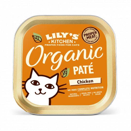 Lily\'s Kitchen - Patee pour Chat - Delice Poulet BIO - 85g