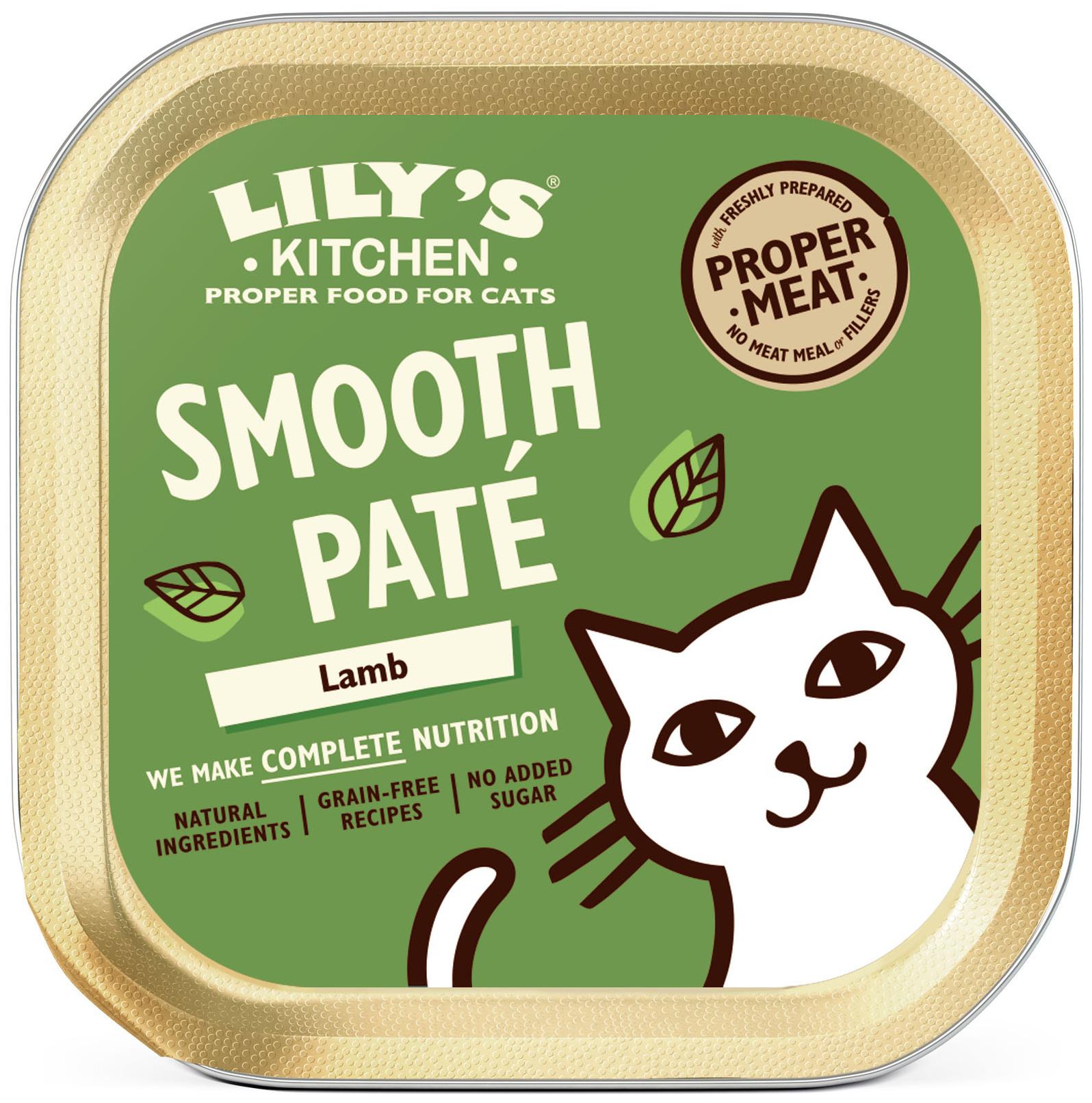 Lily's Kitchen - Smooth Paté pour Chat - Cocotte d'agneau - 85g NosZanimos
