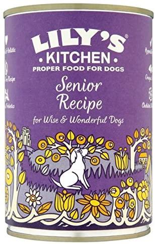 Lily's Kitchen Senior Recette pour chiens âgés 400 g NosZanimos