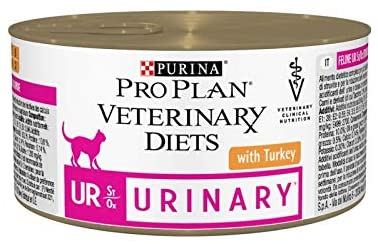 PURINA Pro Plan - Veterinary Diets - Chat Urinary St/Ox- Dinde  - Boites 24*195g