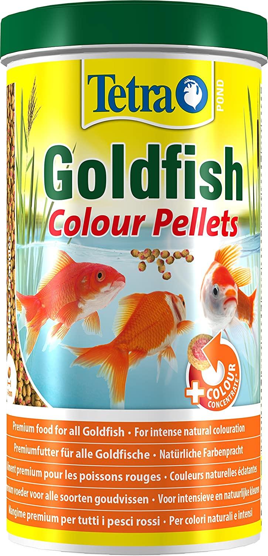 Tetra Pond - Alimentation Goldfish Colour Pellets - 1L