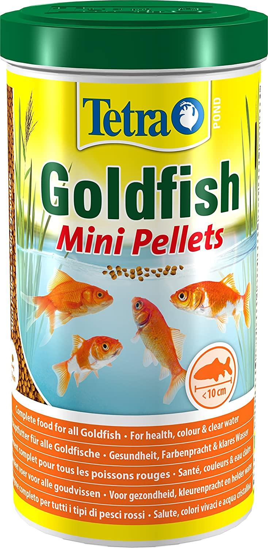 Tetra Pond - Alimentation Goldfish Colour Mini  Pellets - 1L
