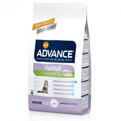 Affinity Advance Chat Hairball - Dinde et Riz