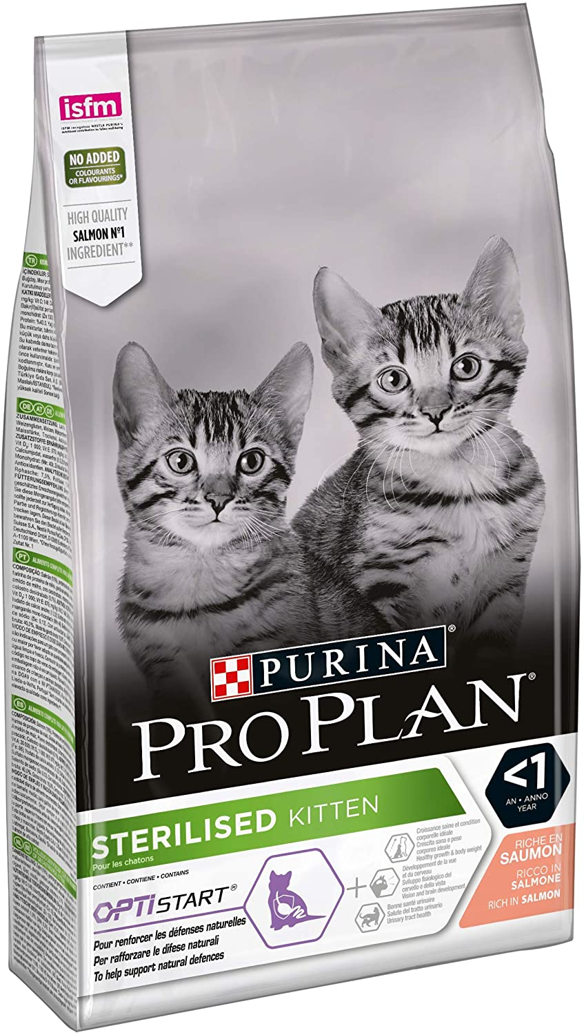 Croquettes Purina Pro Plan - Chat Delicate Kitten OptiDigest - Saumon