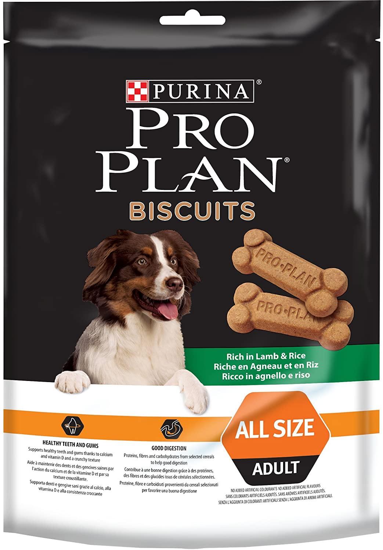 Purina ProPlan Biscuits - Riche en Saumon - 4x400 g