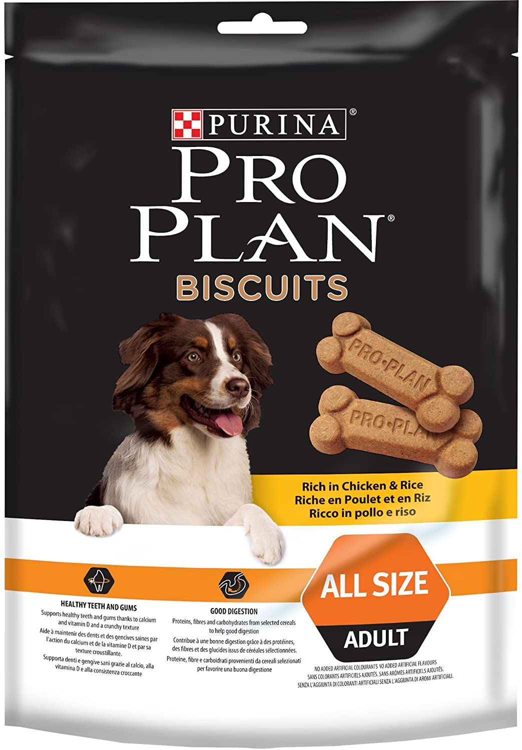 Purina ProPlan Biscuits - Riche en Poulet - 4x400 g