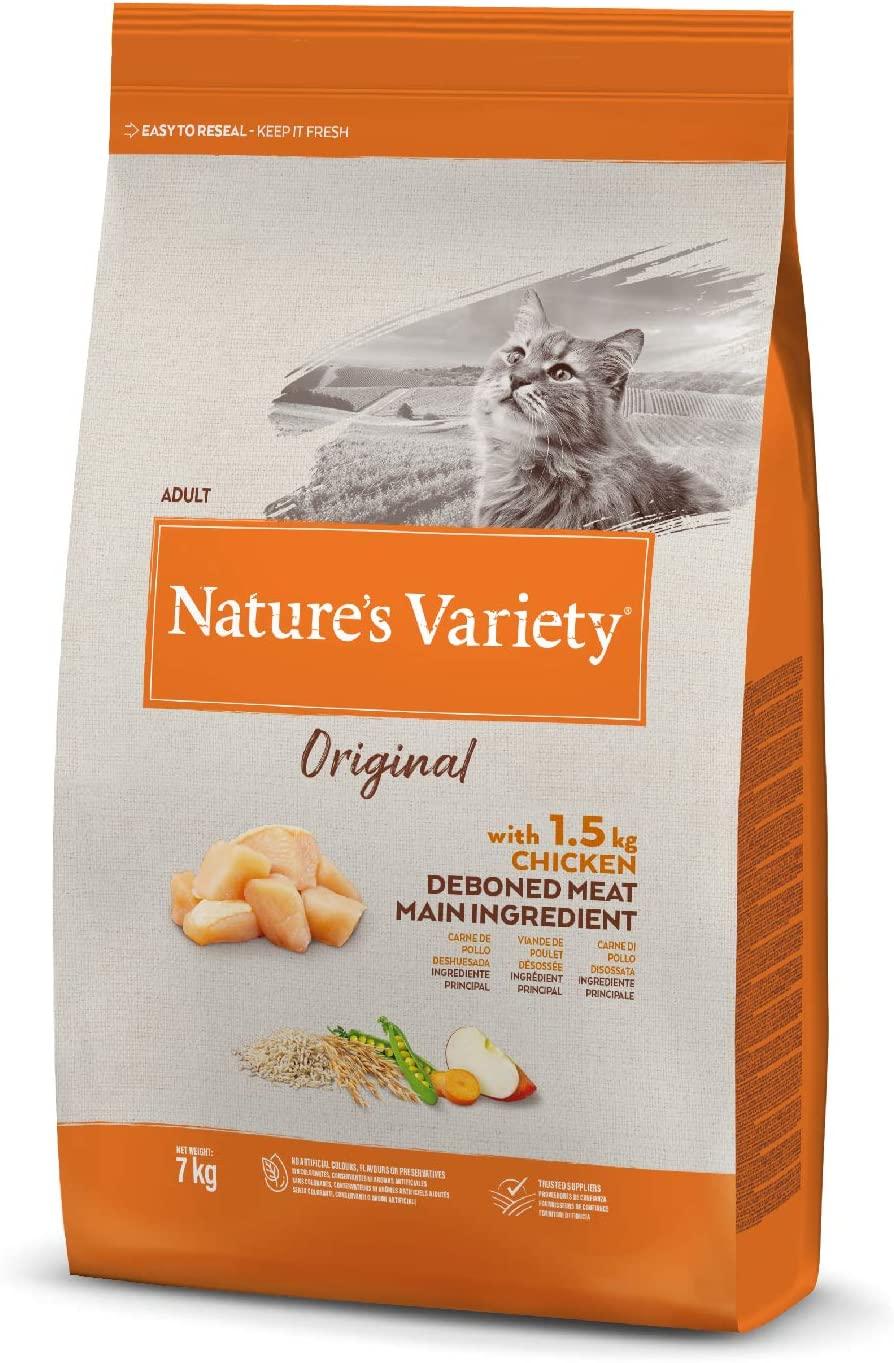 Nature\'s Variety - Croquettes Orignal pour Chat Adult - Poulet
