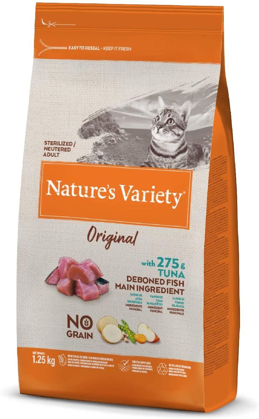 Nature's Variety - Croquettes pour chat Original Stérilisé - Thon