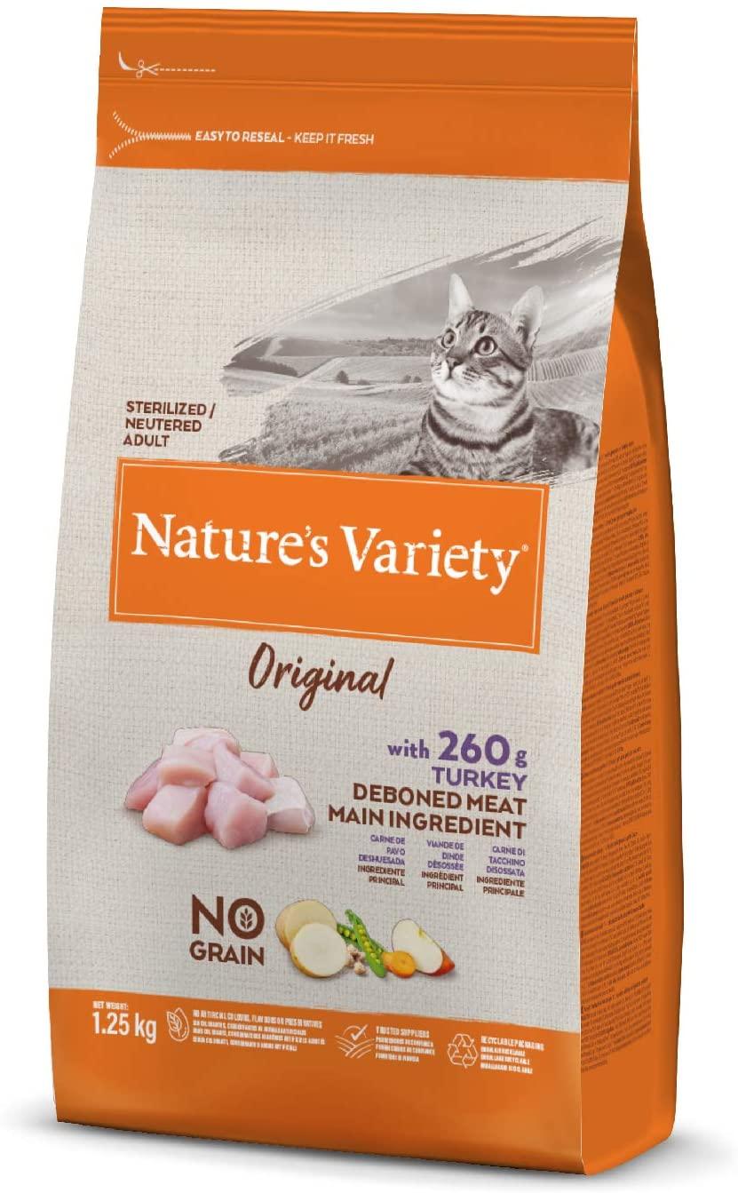 Nature\'s Variety - Croquettes pour chat Original Stérilisé - Dinde