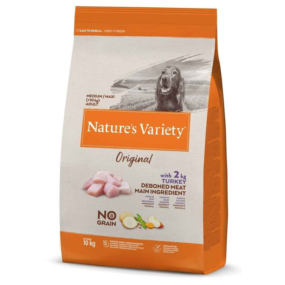 Nature\'s Variety - Croquettes pour Chien Adult Original  - Dinde